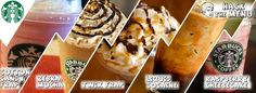 Starbucks secret menu! Check out all of the recipes and how to order the delicious Starbucks Secret Menu drinks at HackTheMenu.com !