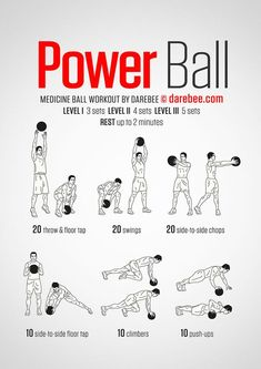 Power Ball Workout: