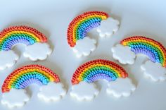 ruffle rainbows