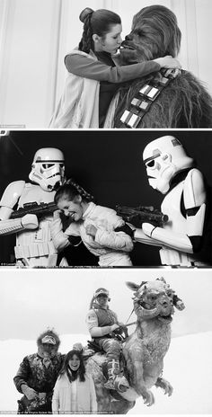 Stars Wars - Behind the scenes