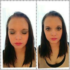 Modell Elin sofia. Makeup by me