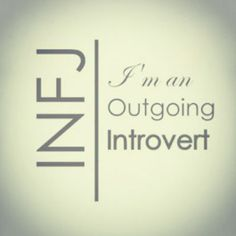 This is why I can do extroverted things every once in a while. Or be outgoing when I need to be. Don't mistake me for an extrovert, though. I am still very much in need of a recharge after social things.