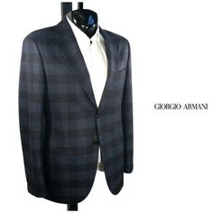 The gorgeous windowpane plaid Giorgio Armani wool sport coat will work with both casual and dress attire. To purchase, call (615) 256-3547. We ship! Featured items: Armani Sport Coat (42) $998 - #nashville #consignment #menswear #designerconsignment #nashvillenow #mensstyle #mensfashion #nashvillefashion #nashvillestyle #luxuryconsignment #sartorial #dapper #styleformen #stylishmen #flipnashville #armani #giorgioarmani