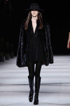 Paris Womenswear A/W 2014  Saint Laurent Paris