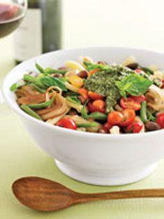 Pasta e Fagioli with Pesto - GoodHousekeeping.com
