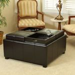 Tulsa Bonded Leather Storage Ottoman from Costco