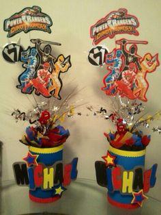 Power Rangers Centerpieces