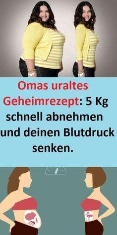 Omas uraltes Geheimrezept: 5 Kg schnell abnehmen und deinen Blutdruck senken. #abnehmen #Geheimrezept #Blutdruck #5kg #Getränk #rezept #schlank #hausmittel #heilmittel