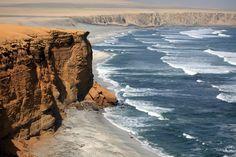 Epic sea cliffs: Paracas