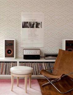 거실인테리어,오디오가있는풍경,LP판,LP턴테이블 : 네이버 블로그