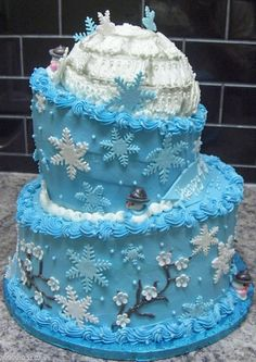 December birthday cakes on Pinterest   French Vanilla Cake ...