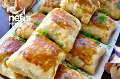 Sebzeli Çıtır Çıtır Börek – Nefis Yemek Tarifleri – Vegan yemek tarifleri – Las recetas más prácticas y fáciles Pastry Recipes, Gourmet Recipes, Vegan Recipes, Delicious Recipes, Cookie Recipes, Mushroom Recipes, Vegetable Recipes, Food Wishes, Hamburger Meat Recipes