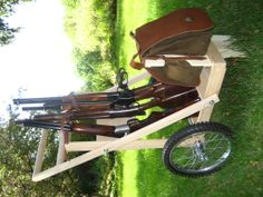 Collapsible Gun Cart