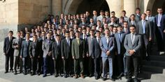 A group of young Armenian Witnesses released from prison -- Why were they in prison? For their beliefs. Jehovah's Witnesses refuse to go to war and kill people. They choose to go to prison. Jesus told us to love our neighbor.