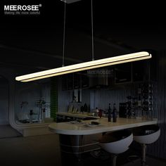 Find More Chandeliers Information about Modern LED Chandelier Light Fitting Rectangle Acrylic LED Lamp For Dining Restaurant lamparas Home Decoration Lighting,High Quality led lamp for growing,China lamp desk Suppliers, Cheap led plant lamp from Meerosee Lighting Co., Ltd on Aliexpress.com