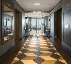 LEMAYMICHAUD | CIEL | Québec | Architecture | Design | Restaurant | Eatery | Hospitality | Bistro | Bar | Natural light | View | Sky | Lobby | Glass Door | Tiling | Lighting | Tiles | Architectural Glass Architecture Design, Bistro, Restaurant, Tiling, Bar, Ciel, Glass Door, Hospitality, Natural Light