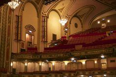 The Cadillac Palace Theater Auditorium by Sheryl Thomas
