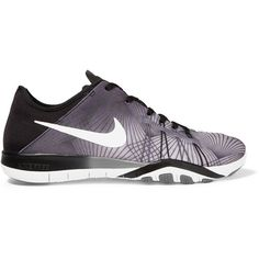 Nike Nike - Free Tr 6 Neoprene Sneakers - Black (€66) ❤ liked on Polyvore featuring shoes, sneakers, nike, sportswear, flexible shoes, neoprene shoes, black sneakers and nike trainers