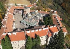 Rila Monastery - Bulgaria - the Byzantine centre begun 10th century
