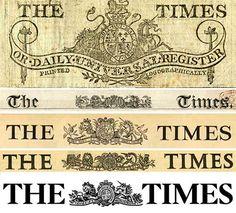 Times New Roman, Stanley Morison (1931). Onesto o quantomeno obiettivo, durevole. http://www.simongarfield.com/