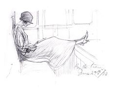 Sketch by Ernest Shepard (illustrator of the original Winnie the Pooh books).