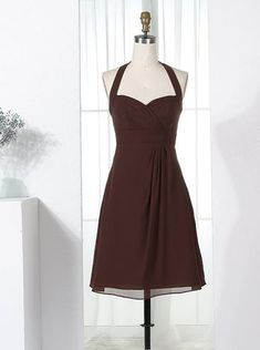 7744a3259ef 18 Best Chocolate Bridesmaid Dresses images