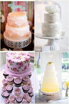 Tortas de casamiento originales y modernas para el 2013! Modelos de soportes para tortas de casamiento