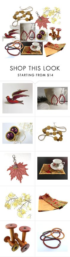"""""""Get Cosy"""" by inspiredbyten ❤ liked on Polyvore featuring vintage"""