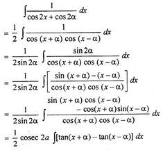 RBSE Solutions for Class 12 Maths Integration Miscellaneous Exercise Class 12 Maths, 12th Maths, Ap Calculus, Algebra, Maths Formulas List, Math Notes, Science Student, English Language Learning, Free Math