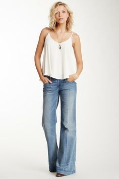 wide leg jeans, This is my Favorite look EVER!!! favorite fit for jeans