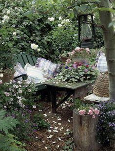 secret garden feeling!