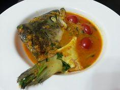 SALMON FISH HEAD IN YOGURT CURRY