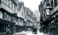 Photo of #York, Low Petergate 1892. Part of The Francis Frith Collection of historic photographs of Britain. Did you know you can browse the archive online today for free? Your nostalgic journey has begun... #francisfrith #photography #archives #frithphotos #historicbritain #thefrancisfrithcollection