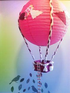 Lampara globo aerostatico de agresttic  por DaWanda.com