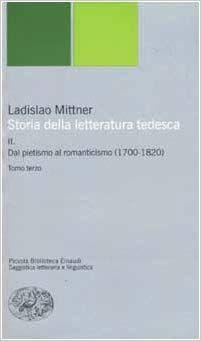Scarica Libro Gratis Storia Della Letteratura Tedesca Ii Dal