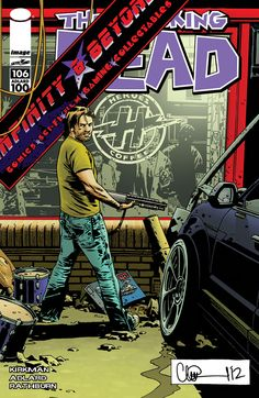 Walking Dead #106 Variant Cover Reprises First Issue, But With Charlie Adlard On It