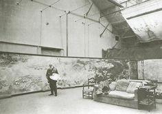 Claude Monet's huge Nympheas Studio in Giverny