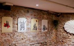 Storytelling Illustration Exhibition @ Gallery Du Monde Drawing, Fine Arts, Illustration