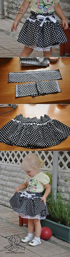 МК по пошиву пышной юбки с фатиновым подъюбником - Шьем легко и красиво