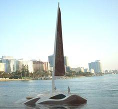 Learn to sail (in Boston)! Future Transportation, Virgin Atlantic, Beach Quotes, Yacht Design, Futuristic Design, Sail Away, Glass Roof, Luxury Yachts, Future Car