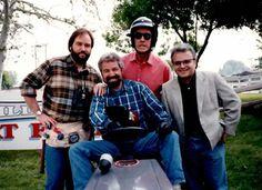 Bob Vila on Tim Allen's Home Improvement ... that was one great lawn mower race.
