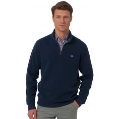 Check out Solid Ribbed 1/4 Zip Pullover from Southern Tide