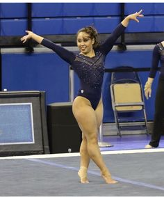 Heyy put your hands in the air for season starting in 50 dayss💙💛 Amazing Gymnastics, Gymnastics Team, Gymnastics Pictures, Artistic Gymnastics, Olympic Gymnastics, Gymnastics Leotards, Katelyn Ohashi, Gymnastics Photography, Beautiful Athletes