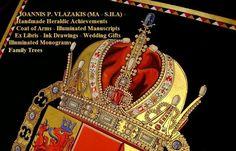 Who we are and what we love to do. Ioannis P. Vlazakis Heraldic artist, Illuminator