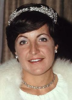 HRH Princess Margriet of the Netherlands wearing the Ears of wheat diamond tiara.