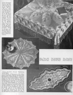 """Photo from album """"kunstricken grosse."""" on Yandex. Lace Knitting, Knit Crochet, Lace Design, Handmade Toys, Views Album, Outdoor Blanket, Author, Yandex Disk, Lace Tablecloths"""