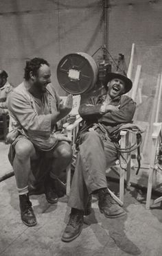 John Rhys-Davies and Harrison Ford. This makes me incalculably giddy.