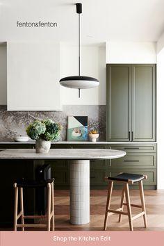 Dining Room Furniture Design, Kitchen Furniture, Kitchen Interior, Furniture Decor, Modern Kitchen Cabinets, Kitchen Dining, Bar Kitchen, Interior Desing, Stylish Home Decor