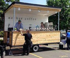 19 Ideas Food Truck Design Interior Coffee Shop For 2019 Food Trucks, Food Cart Design, Food Truck Design, Food Stall Design, Coffee Carts, Coffee Truck, Coffee Coffee, Trailers Camping, Foodtrucks Ideas