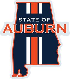 "Earlier this week, Auburn wide receiver Sammie Coates was seen wearing a shirt that read ""State of Auburn,"" depicting the state of Alabama outline, filled in with blue and striped[. Auburn Quotes, Auburn Memes, Auburn Vs, Auburn Tigers, Auburn Football, College Football Teams, Football Shirts, Football Crafts, Auburn University"